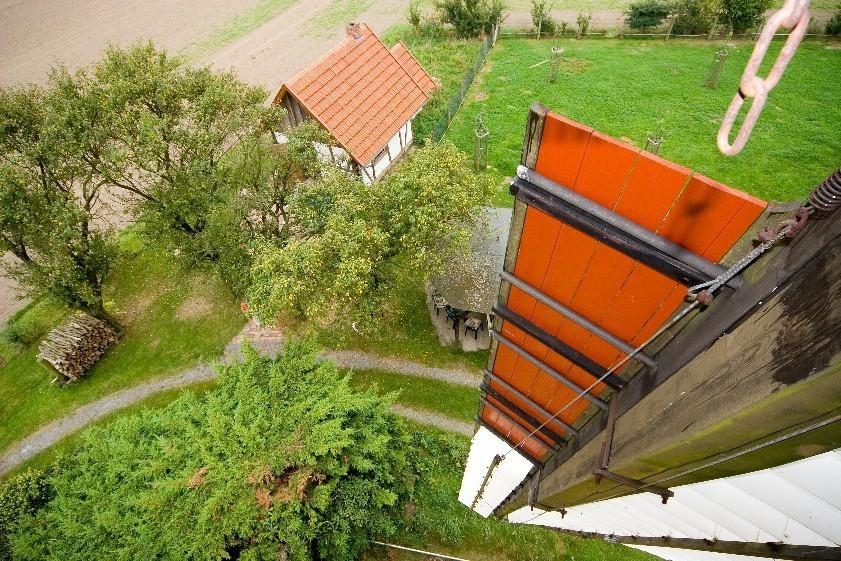 Ein Blick aus der Kappe (Foto: NRW Stiftung)